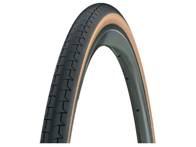 Michelin Dynamic Classic Cubierta de Bicicleta 25-622, black-transparent